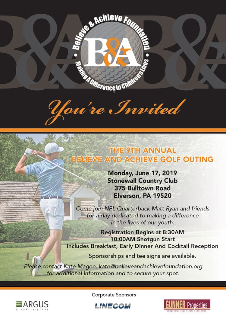 Golf Outing Invite
